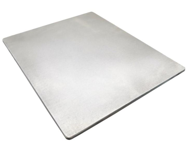 Et virkelig godt bagestål, som måler 8 cm, hvilket gør at det kan holde på endnu mere varme.