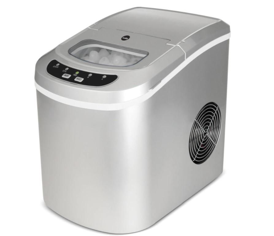 Wilfa ICE12-S er en god, hurtig og pålidelig isterningemaskine i et kompakt design. Kan lave en portion isterninger på mellem 6-12 minutter, og du kan vælge mellem 2 størrelser.