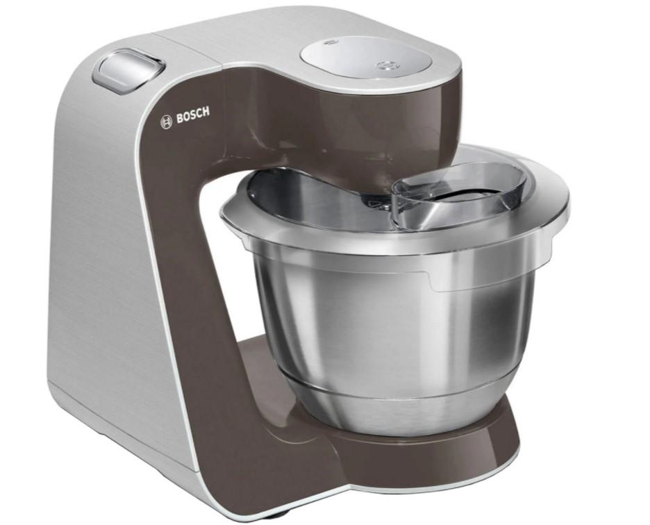Bosch MUM58A20 er en god køkkenmaskine med en kraftig motor, der har en kapacitet på hele 1000 W.